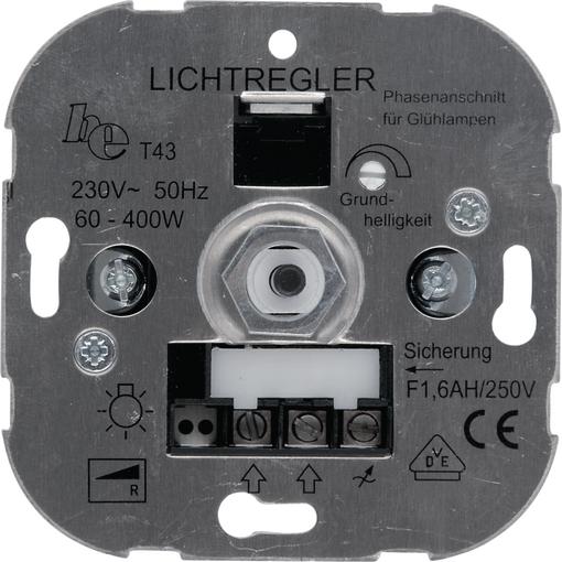 Dimmer mit Druckwechselschalter 60 – 600 W